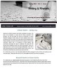 The Subject Librarian Newsletter, Writing & Rhetoric, Spring 2015