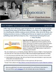 The Subject Librarian Newsletter, Economics, Fall 2014
