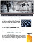 The Subject Librarian Newsletter, English, Fall 2014