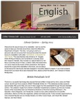 The Subject Librarian Newsletter, English, Spring 2014