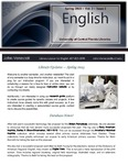 The Subject Librarian Newsletter, English, Spring 2015