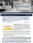 The Subject Librarian Newsletter, Finance & Real Estate, Fall 2014