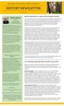 The Subject Librarian Newsletter, History, Spring 2014