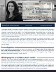 The Subject Librarian Newsletter, Health Management & Informatics, Fall 2013