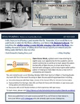 The Subject Librarian Newsletter, Management, Fall 2014