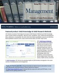 The Subject Librarian Newsletter, Management, Spring 2014