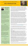 The Subject Librarian Newsletter, Communication, Spring 2014