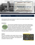 The Subject Librarian Newsletter, Political Science, Spring 2015