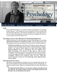 The Subject Librarian Newsletter, Psychology, Spring 2014