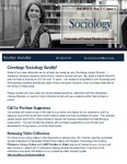 The Subject Librarian Newsletter, Sociology, Fall 2013