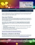 The Subject Librarian Newsletter, Sociology, Fall 2014