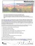 The Subject Librarian Newsletter, Mathematics, Fall 2015