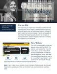 The Subject Librarian Newsletter, Psychology, Fall 2015