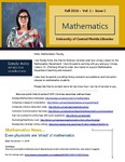 The Subject Librarian Newsletter, Mathematics, Fall 2016 by Sandy Avila