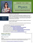 The Subject Librarian Newsletter, Physics, Spring 2017