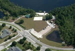 Lake Claire, aerial shot