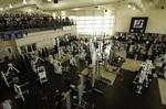 Recreation and Wellness Center, equipment