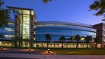 Harris Corporation Engineering Center, night
