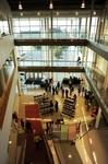 University Center, interior, entrance