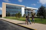 University Center, front, side