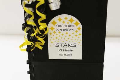 STARS gift bag label