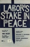 Labor's stake in Peace