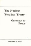 The nuclear test-ban treaty: Gateway to peace