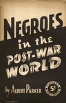 Negroes in the post-war world