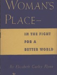 Woman's place in the fight for a better world