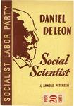 Daniel De Leon: Social scientist