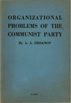 Organizational problems of the Communist party