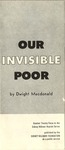 Our invisible poor