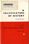 Falsificators of history, an historical note: Text of communique issued February, 1948