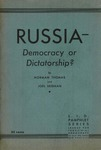 Russia--democracy or dictatorship?