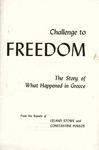 Challenge to freedom