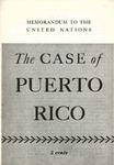 The case of Puerto Rico: Memorandum to the United Nations