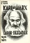 Karl Marx as labor defender, 1848-1871