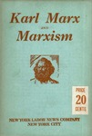 Karl Marx and Marxism: A universal genius, his discoveries, his traducers