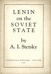 Lenin on the Soviet state