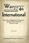 War and the 4th International; draft theses adopted