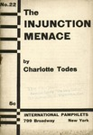The injunction menace