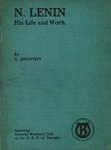 N. Lenin: His life and work