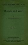 Biology and war