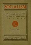 Socialism: Aim, methods and tactics as applied to twentieth century conditions