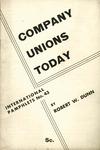 Company unions today