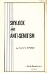 Shylock and anti-semitism: Evidence that the backbone of the play is anti-Semitic