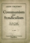 Communism and syndicalism: On the trade-union question