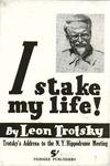 I stake my life!