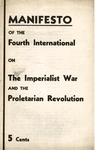 Manifesto of the Fourth International on the imperialist war and the proletarian revolution