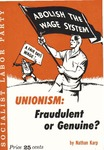 Unionism: Fradulent or genuine?